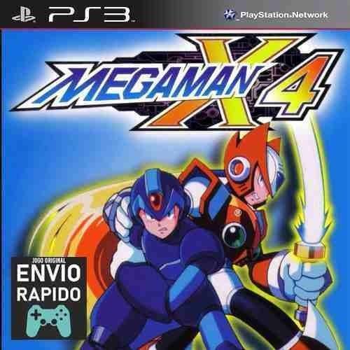 Megaman X4 Mega Man X4 - Jogos Ps3 Original