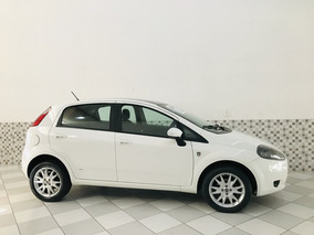 Fiat Punto Attractive Italia 1.4 Flex 2012 Branco Único Dono