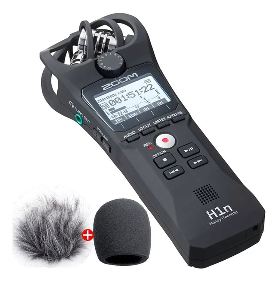 Gravador Profissional Zoom H1n + Acessórios