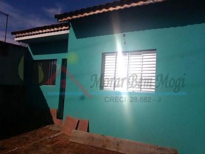 Casa Para Venda Em Mogi Das Cruzes, Parque Olimpico, 2 Dormitórios, 1 Suíte, 1 Banheiro, 3 Vagas - 1488