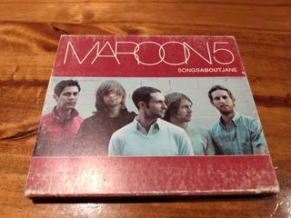 Cd Original Maroon 5 Songs About Jane