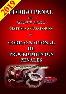 Código Penal Del Estado De Jalisco Y Código Único 2019