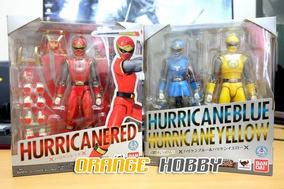 Sh Figuarts Hurricanger Hurricaneger Power Ranger Tempestade