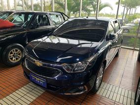 Cobalt 1.8 Elite Top De Linha+automatico 2017 Azul Met.
