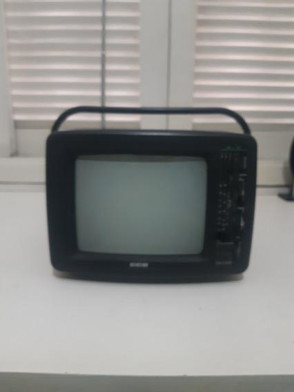 Tv Portátil Cce Antiga Rádio Am/fm