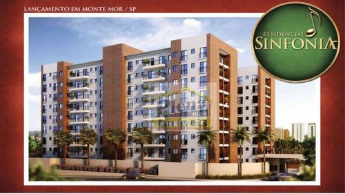 Imagem 1 de 30 de Apartamento Residencial À Venda, Vila Magal, Monte Mor. - Ap0882