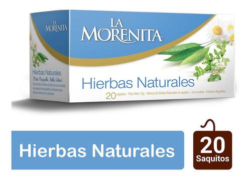 Morenita Te Mezcla De Hierbas Naturales X 20 Saquitos