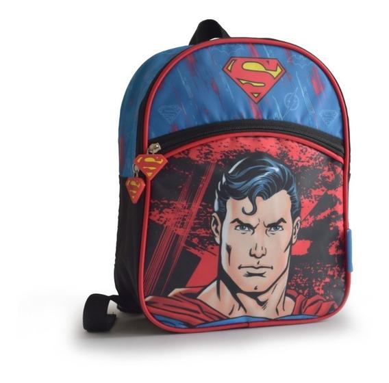 Mochilas Ideal Jardín Liga De La Just Batman Flash Superman