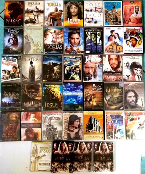 Filmes Épicos E Biblicos - Coleção Em 51 Dvds - Original