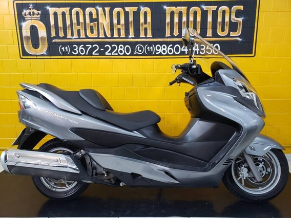 Suzuki Burgman 400 - 2012 - Cinza - Km 18.000