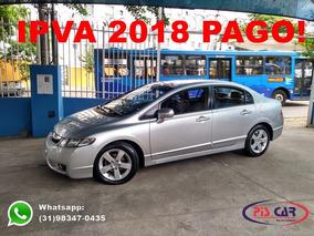 Honda Civic Lxs 1.8 16v Flex Automatico 2010