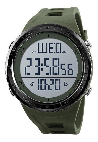 Relógio Masculino Pulso Digital Esporte Resistente À Água