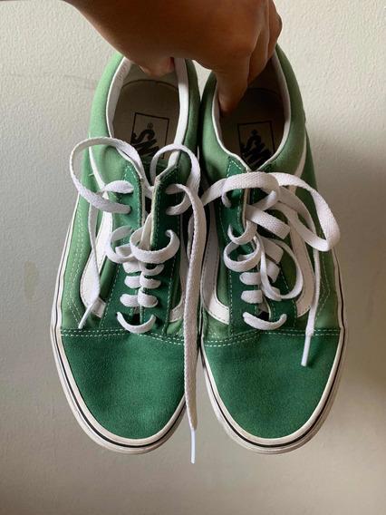 Tênis Vans Old Skool (verde) - Original