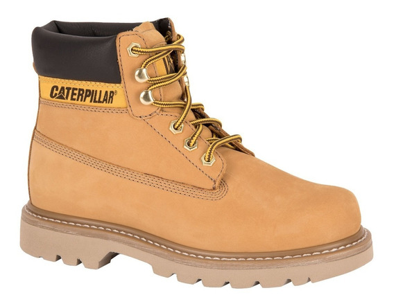 Botas Cat Colorado Light Caterpillar Piel Original Mujer