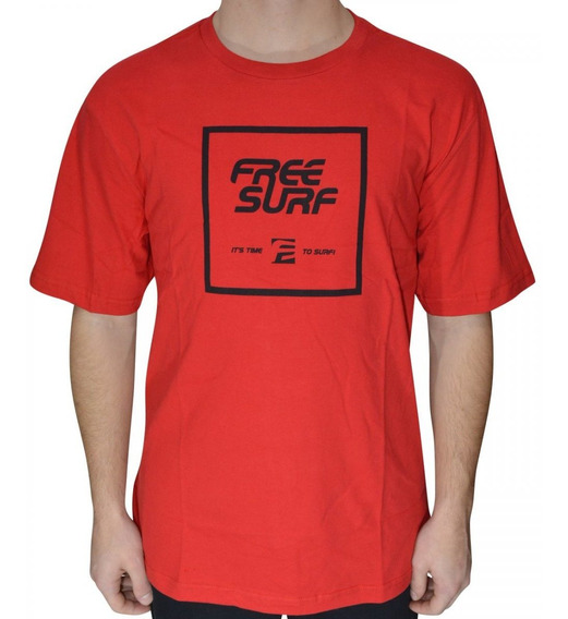Camiseta Free Surf Surfe