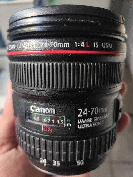 Lente Canon 24x70 F4