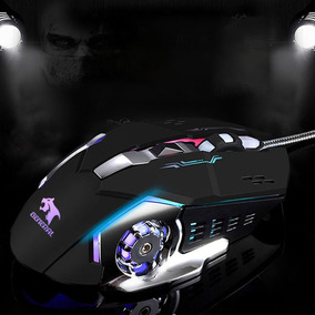 X9 Gaming Mouse Gamer Laptop Pc Ratos Mecânico Usb Wired Pro