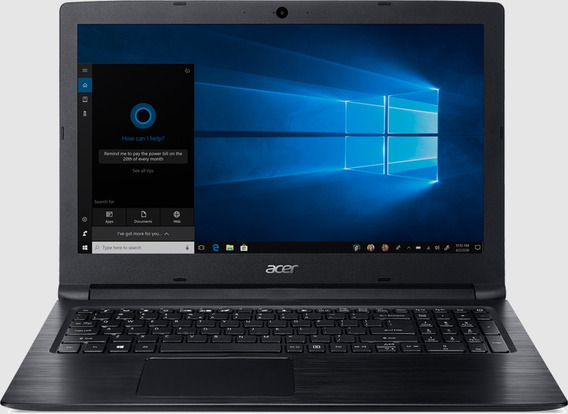 Notebook Acer Aspire 3 Amd Ryzen 3 Mem 4gb Hd 1tb Windows 10