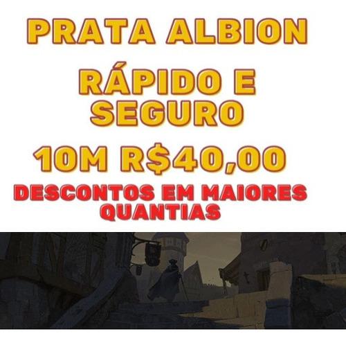 Albion 10m Prata = R$ 40,00