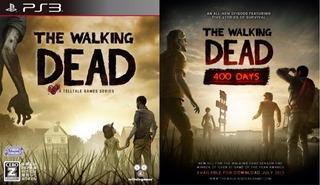 The Walking Dead 1 + Dlc 400 Days ~ Ps3 Digital Español