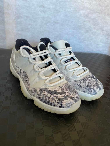 Nike Air Jordan 11 Lo Sail Snakeskin