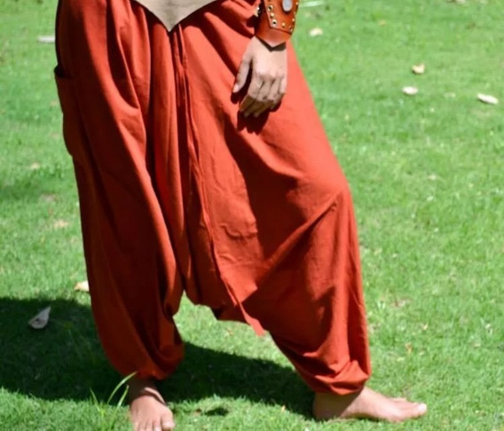 Calças Goa - Goa Nomads. Algodão. Balão, Aladim, Saruel-thai