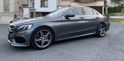 Imagen 1 de 12 de Mercedes Benz C250 Cgi Sport 2017 Gris Oxford