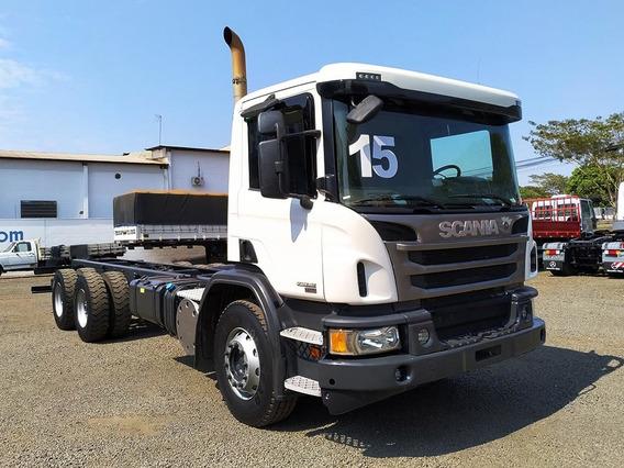 Scania P360 B6x4 Cs 2015 Tracado, No Chassi - Sb Veiculos
