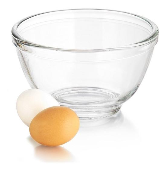 Bowl De Vidrio Templado Libbey Apto Horno Freezer 1 Litro