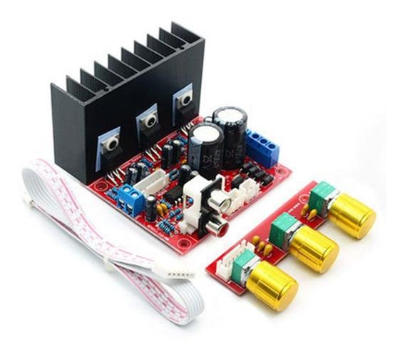 Tda2030a 2.1 Super Bass 2.1 Subwoofer Placa Amplificador 3 C