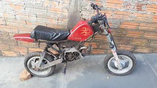 Mini Moto Brandy Fapinha Antiga 50cc Zanella Para Restaurar