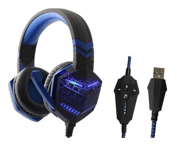 Fone Ouvido Gamer Headset Gaming Microfone Feir Usb Fr-511