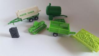 Set De Implementos Para El Agro En Miniatura