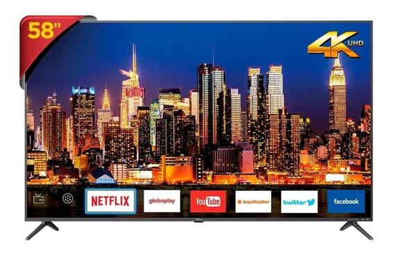 Tv Led 58 Smart 4k Ptv58f80sns - Unica