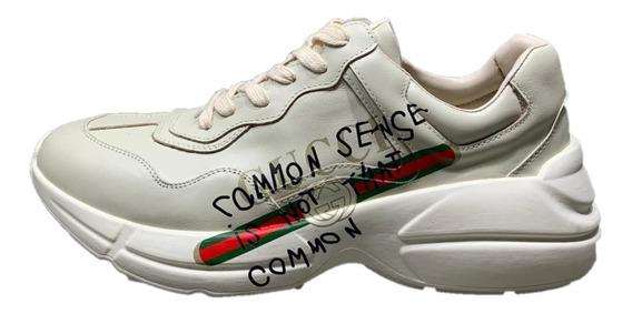 Tennis Gucci Rhyton Common Sense, Envío Gratis