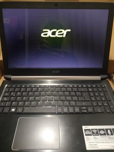 Notebook Acer I7 7ma 8gb 1tb Como Nueva Con Falla No Envio