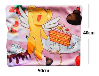 Sakura Card Captor Kero Funda De Almohada De 40 X 50cm