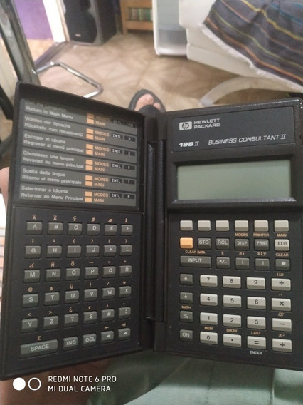 Calculadora Financeira Hp 19bii, Funcionando - Sem Pilhas!