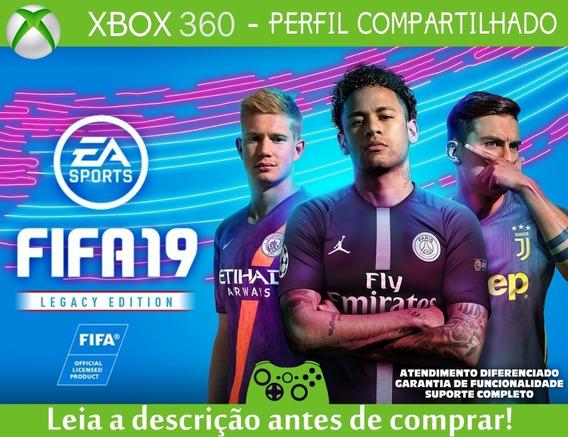 Fifa 19 Legacy Edition - Mídia Digital - Xbox 360
