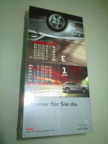 Audi Calendário 2014 De Mesa Tridimensional Alemão Lacrado