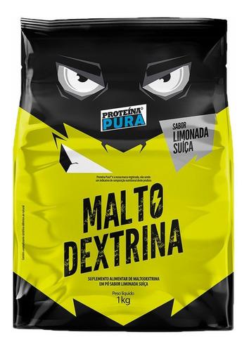 Imagem 1 de 2 de Maltodextrina 1kg - Sabor Limonada Suíça - Proteína Pura