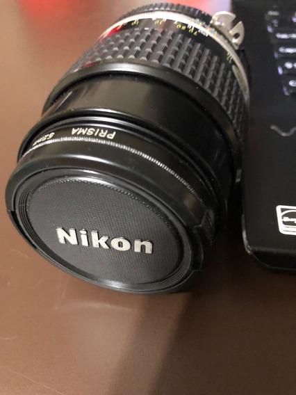Lente Nikon 105mm F:2.5 Ai