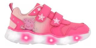 Zapatillas Con Luces Peppa Pig Footy Multiluces Mundo Manias