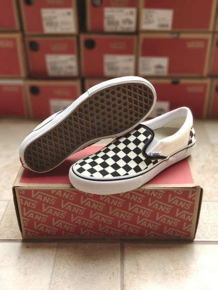 Vans Slip On Checkboard Pro
