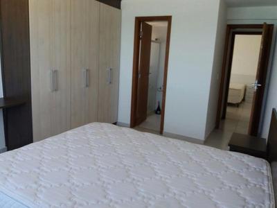 Maravilhoso Apartamento Mobiliado Vista Mar Com 03 Quartos Sendo (02 Suítes) Cavaleiros. - Ap0019