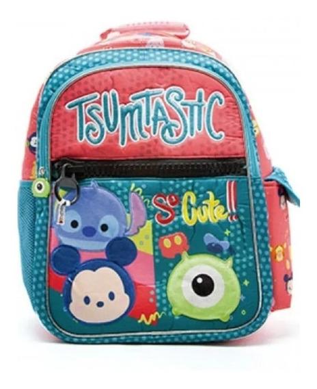 Mochila Escolar Tsum Tsum Cresko Grande