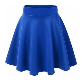 1f33de8a2 Polleras Bordo - Polleras Corta de Mujer Azul en Mercado Libre Argentina