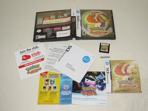 Pokemon Heart Gold Original Nintendo Ds 3ds Not For Resale