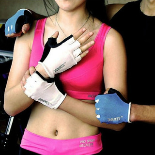 Guantes Mujer Gym Fitness Ciclismo Crossfit Unisex Bonito