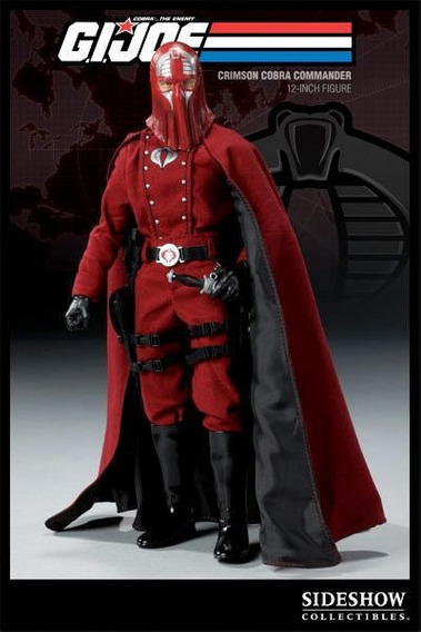 Crimson Cobra Commander Sideshow G.i. Joe